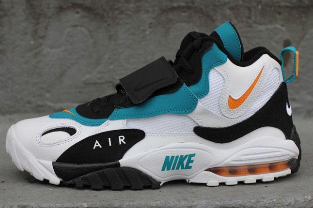 Feelin' these Miami Dolphins Nike Air Max Speed Turf retros