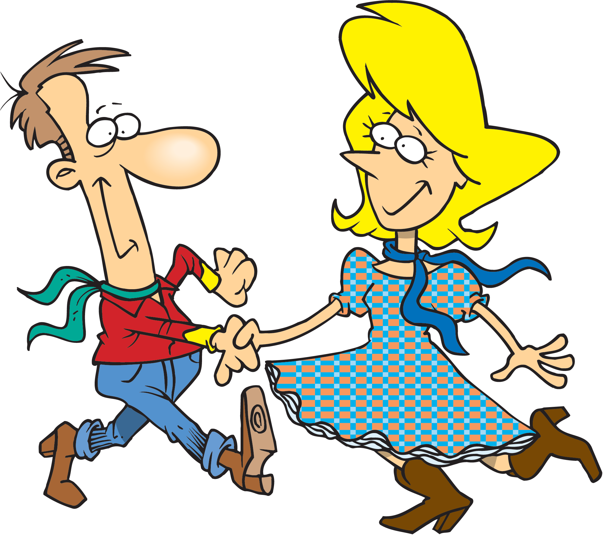 Funny Dancing Cartoon Images Images Clip Art Library Square Dancing Dance Poster Old People Cartoon
