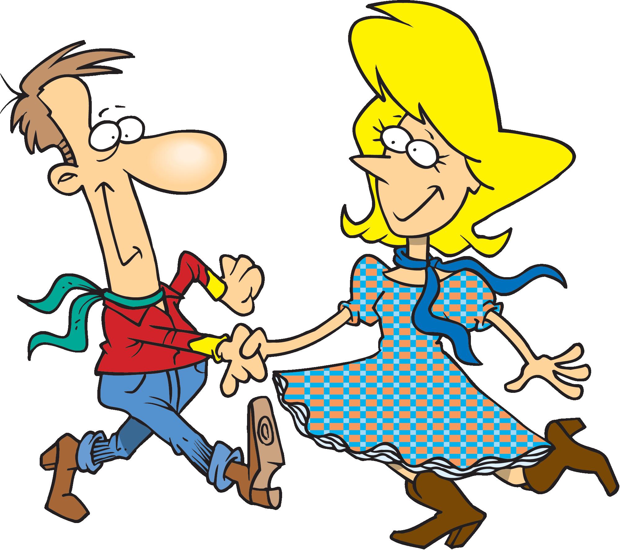 Funny Dancing Cartoon Images Images Clip Art Library Square Dancing Cartoon Clip Art Dance Poster