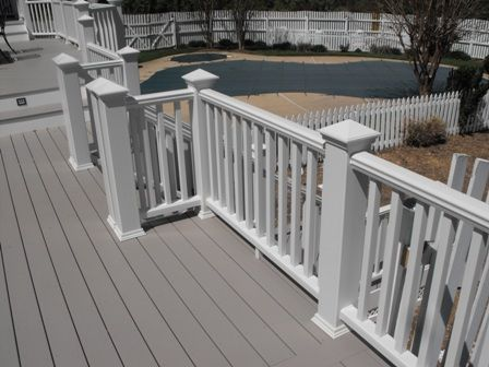 Deck Stain Color And Railing Post Style Project Remodel