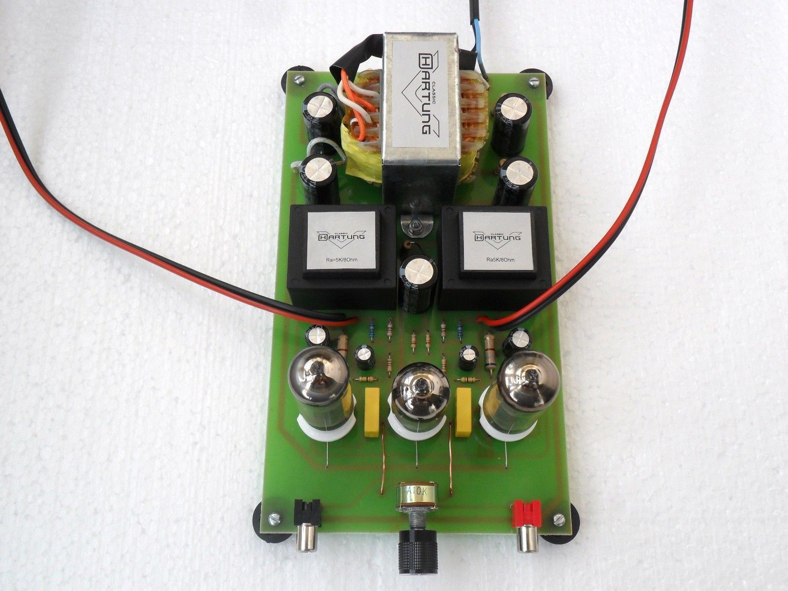 Beginners DIY Project Class A SE HiFi Stereo Tube Amp 6V6