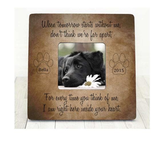 Pet Loss Memorial Pet Sympathy Gift Dog Cat Perfect