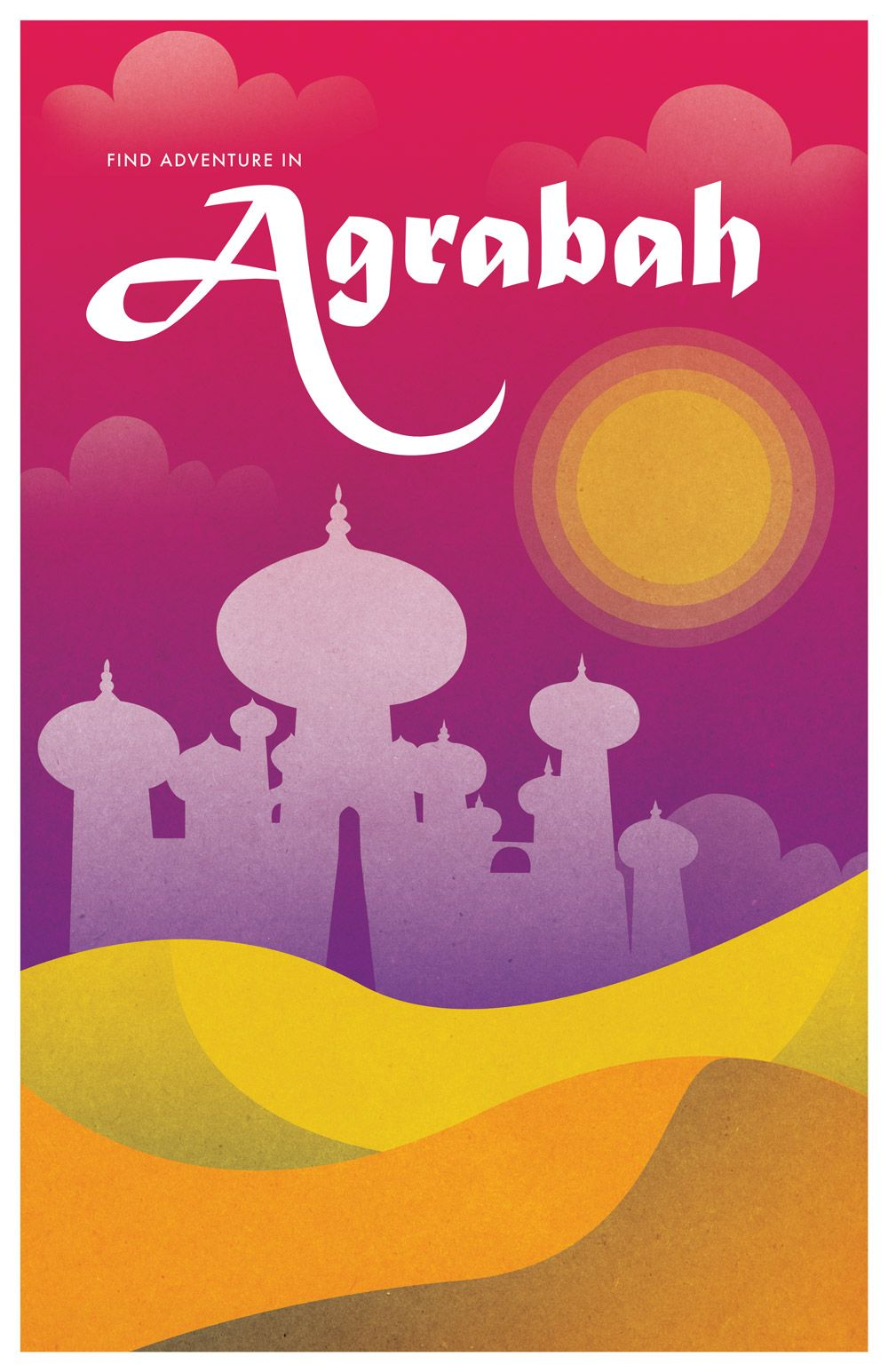 Explore the World with These Disney Travel Posters