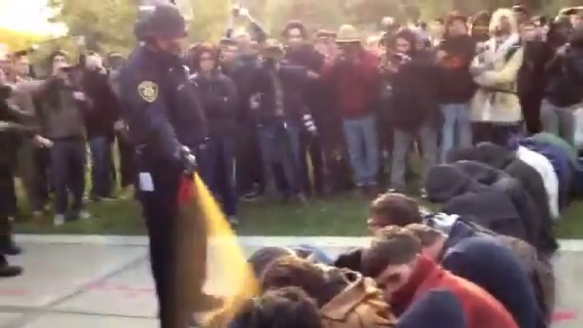 John Pike, Pepper-Spraying Cop, Gets $38,000 Disability Settlement [remember this guy?]