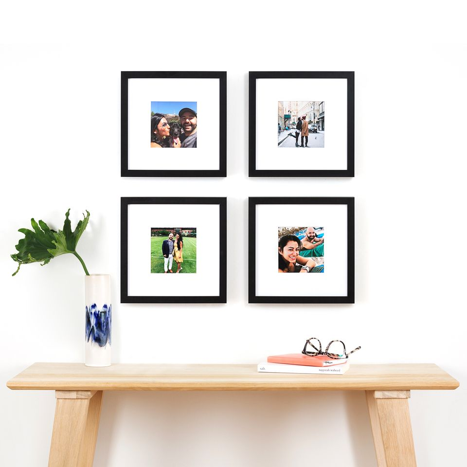 The 4 Aiden Bundle Four 11x11 Frames Framebridge Gallery Wall Design Gallery Wall Diy Gallery Wall