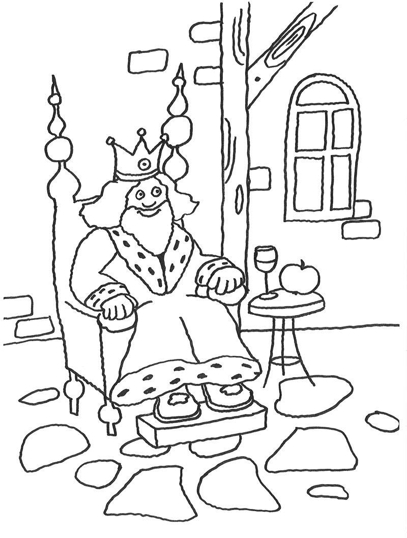 märchen vom dornröschen  ausmalbild märchen kostenlose