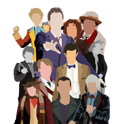 All The Doctors (Doctor Who) by Alexandra Baker