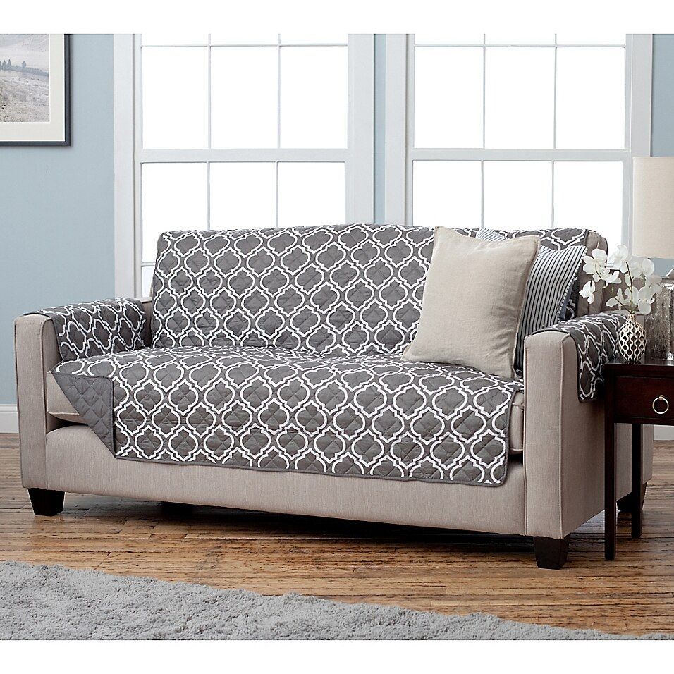 Adalyn Collection Reversible Sofa Size Furniture Protectors In
