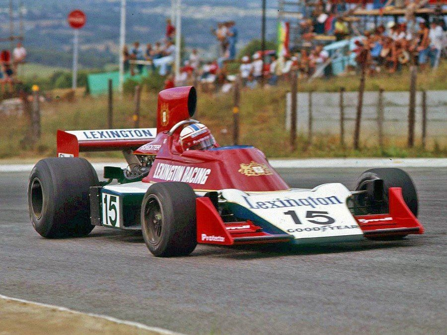 Ian Scheckter in the Tyrrell Ford 007 1976 South African