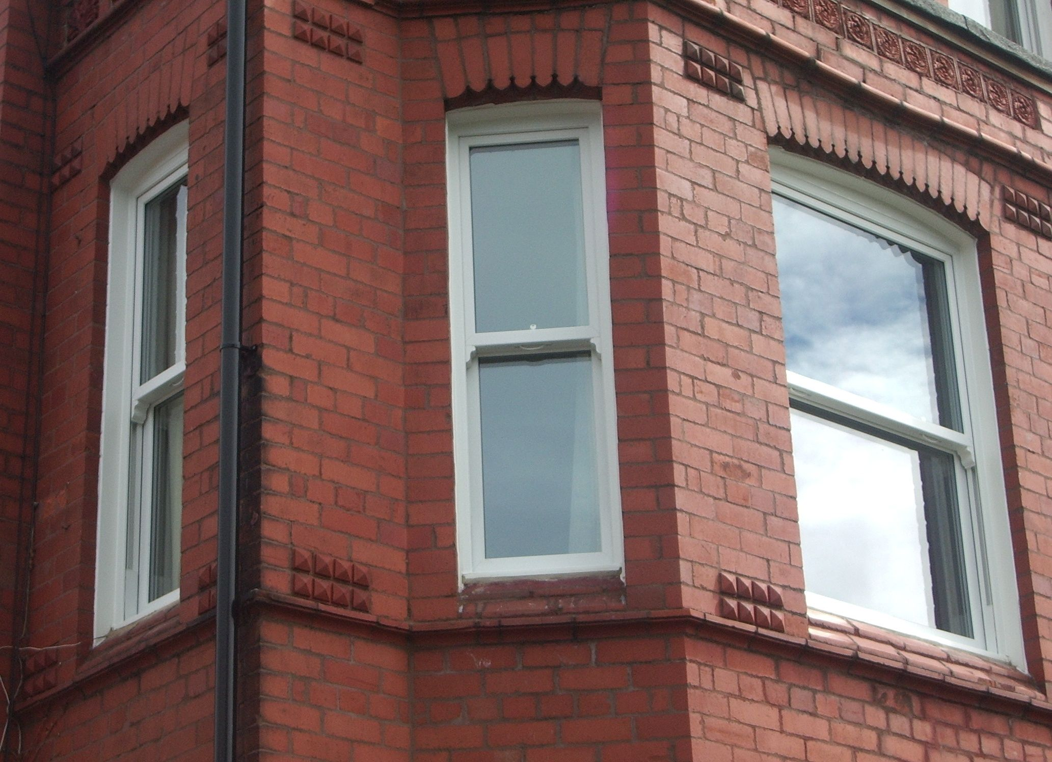 Double glazed sliding sash window manufactured and fitted by Everite Windows http://www.everitewindows.com/Sash-Windows