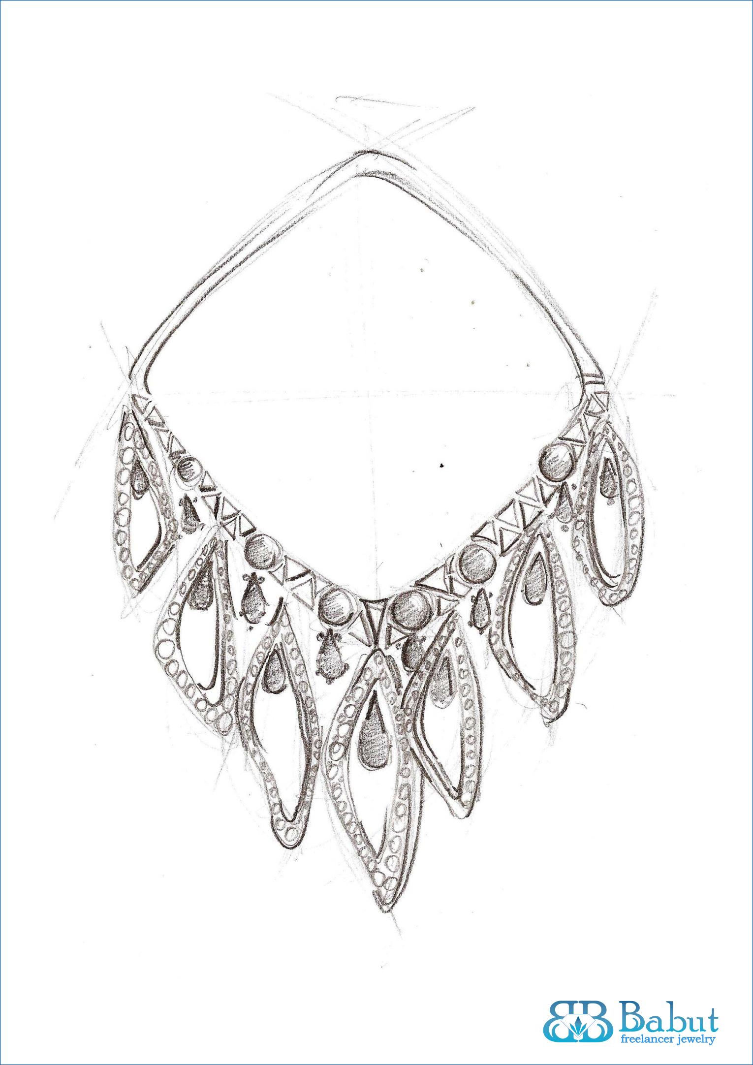 sketches jewelry design | sketches design jewelry | Pinterest ...