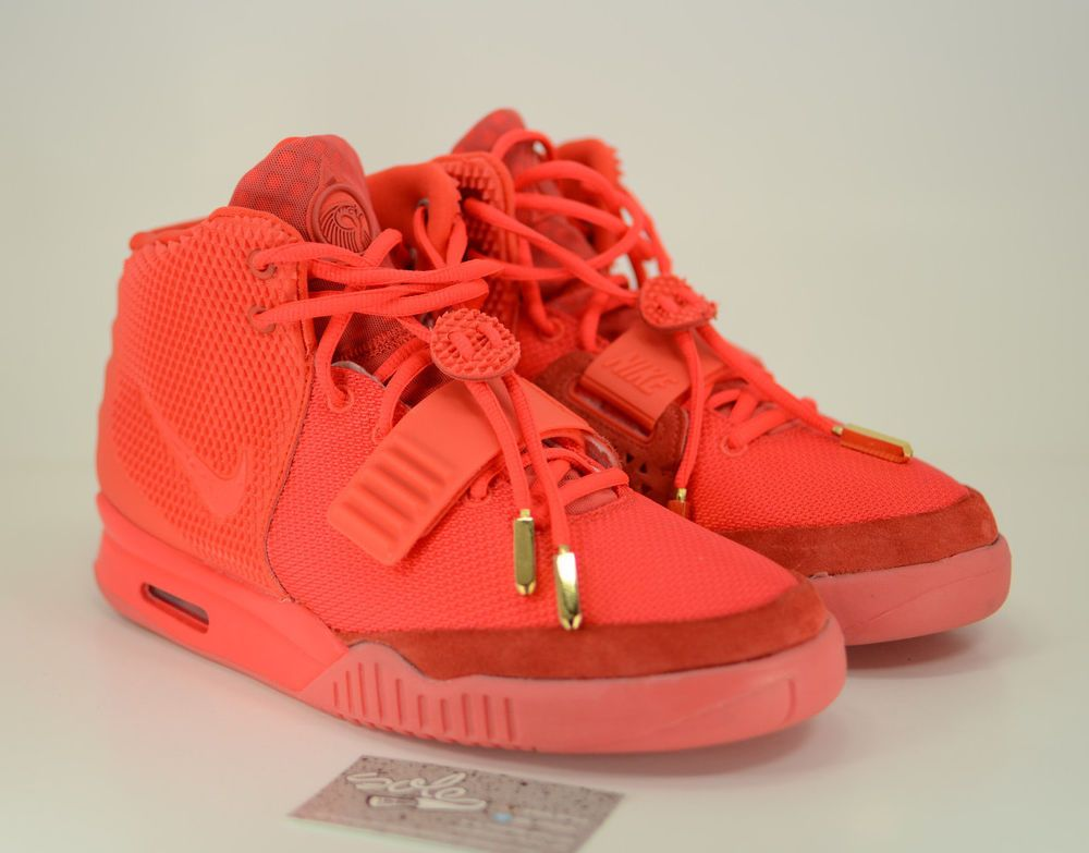 40d33d941 ... reduced nike air yeezy 2 nrg sp kanye red october rare mag sz 11 ds msg