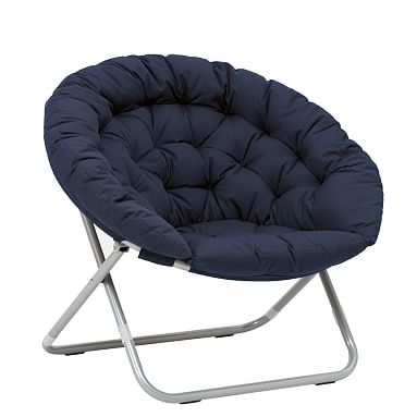 Hang A Round Chair, Navy