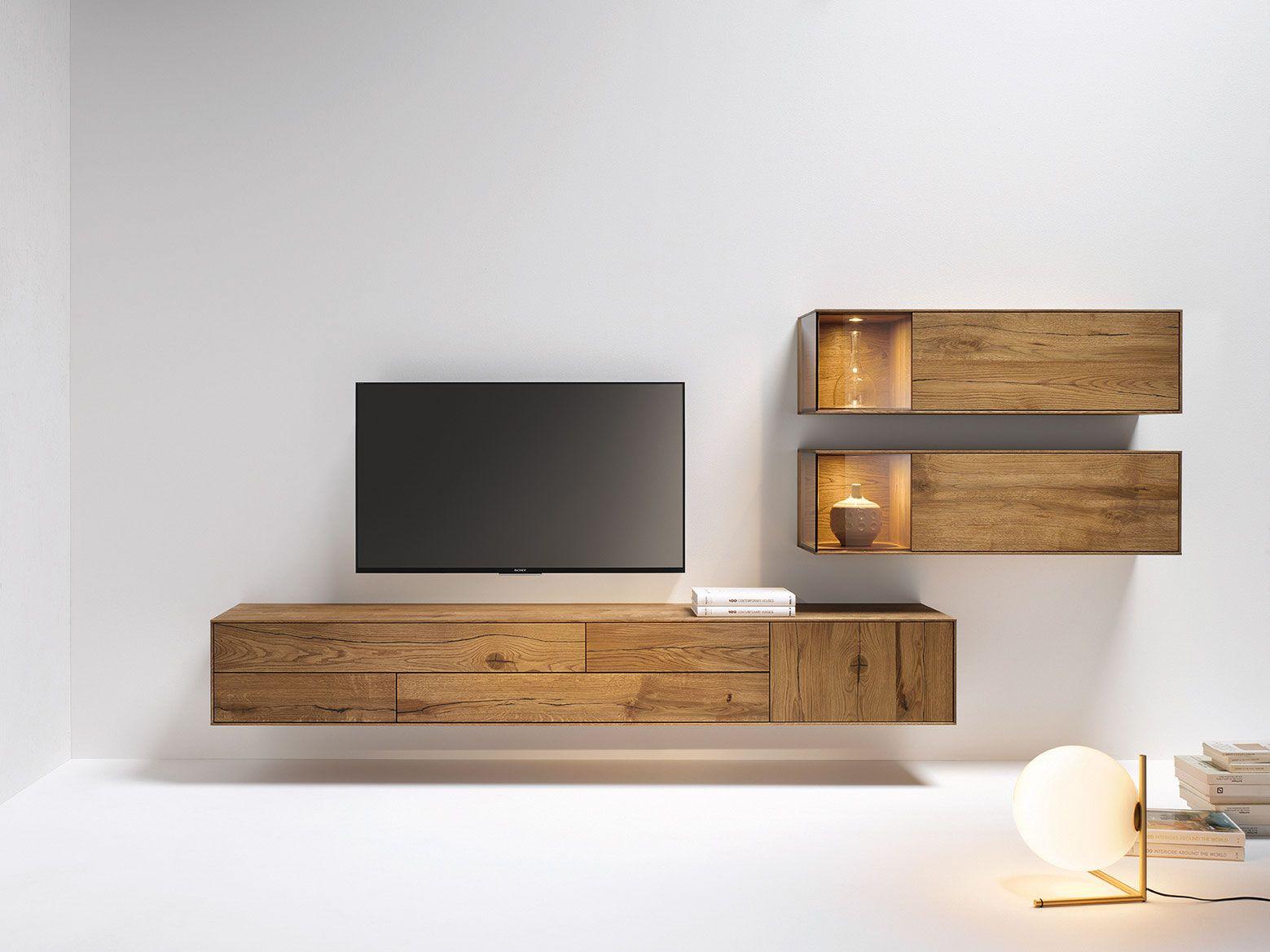 Wohnzimmer naturfarben ~ Wohnwand in grau naturfarben von voglauer wohnwände pinterest