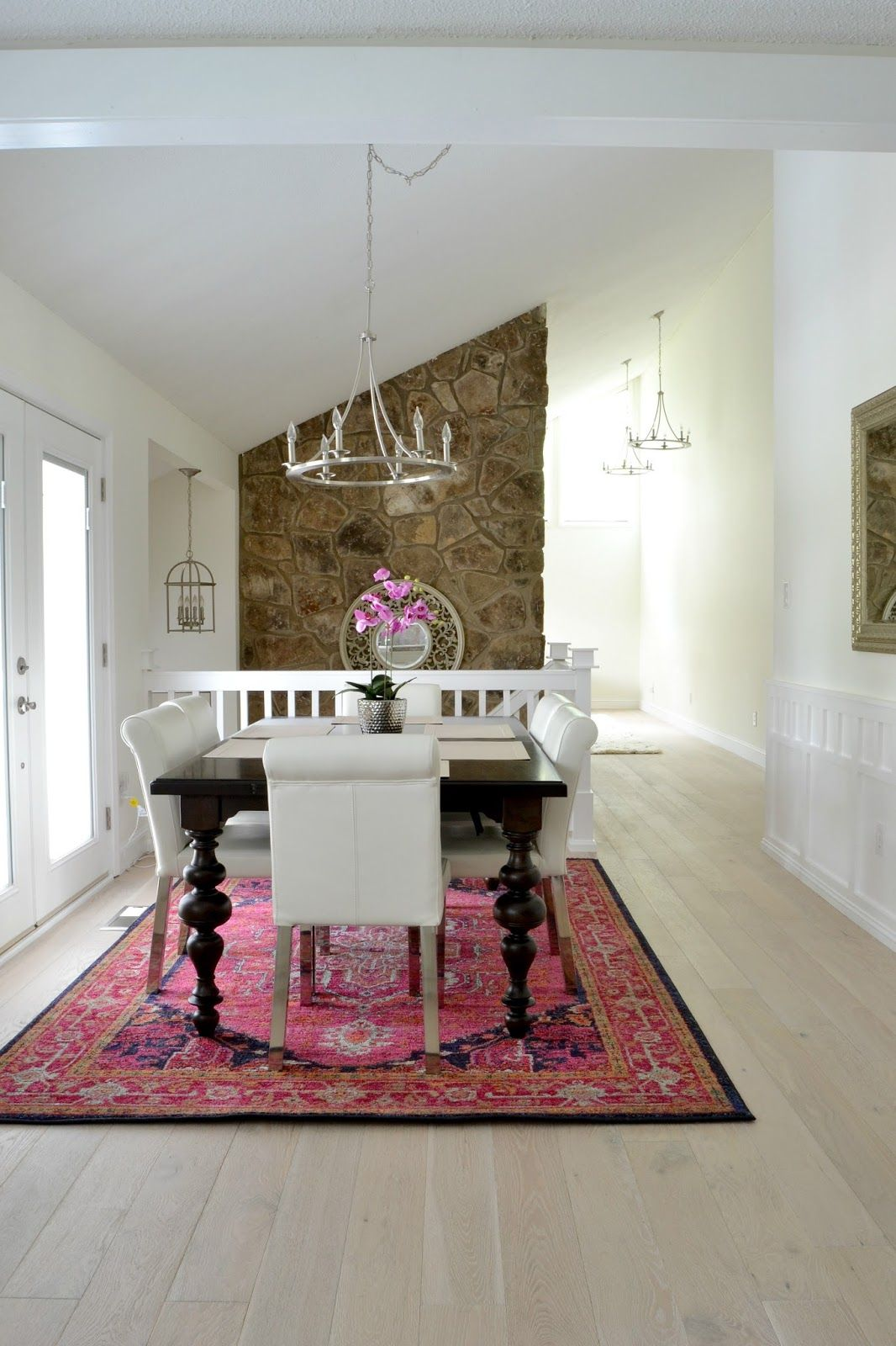 Our new white washed hardwood flooring (and why we had to
