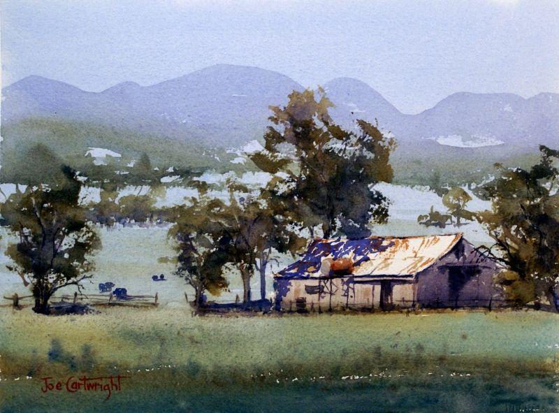 Watercolor Landscape Paintings Watercolour Landscape Painting Of