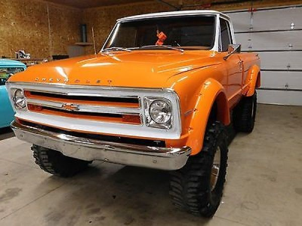 1968 Chevrolet C K Pickup 2500 1968 Chevy Gmc C K 20 4 Wheel Drive