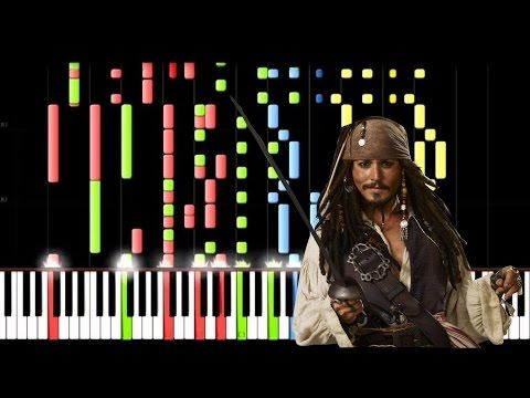 Pirates Of The Caribbean Medley Pirates Of The Caribbean Piano