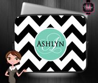 Custom Monogrammed & Personalized Laptop Case Sleeve, Monogrammed Ipad & Computer Case, Personalized Sleeve