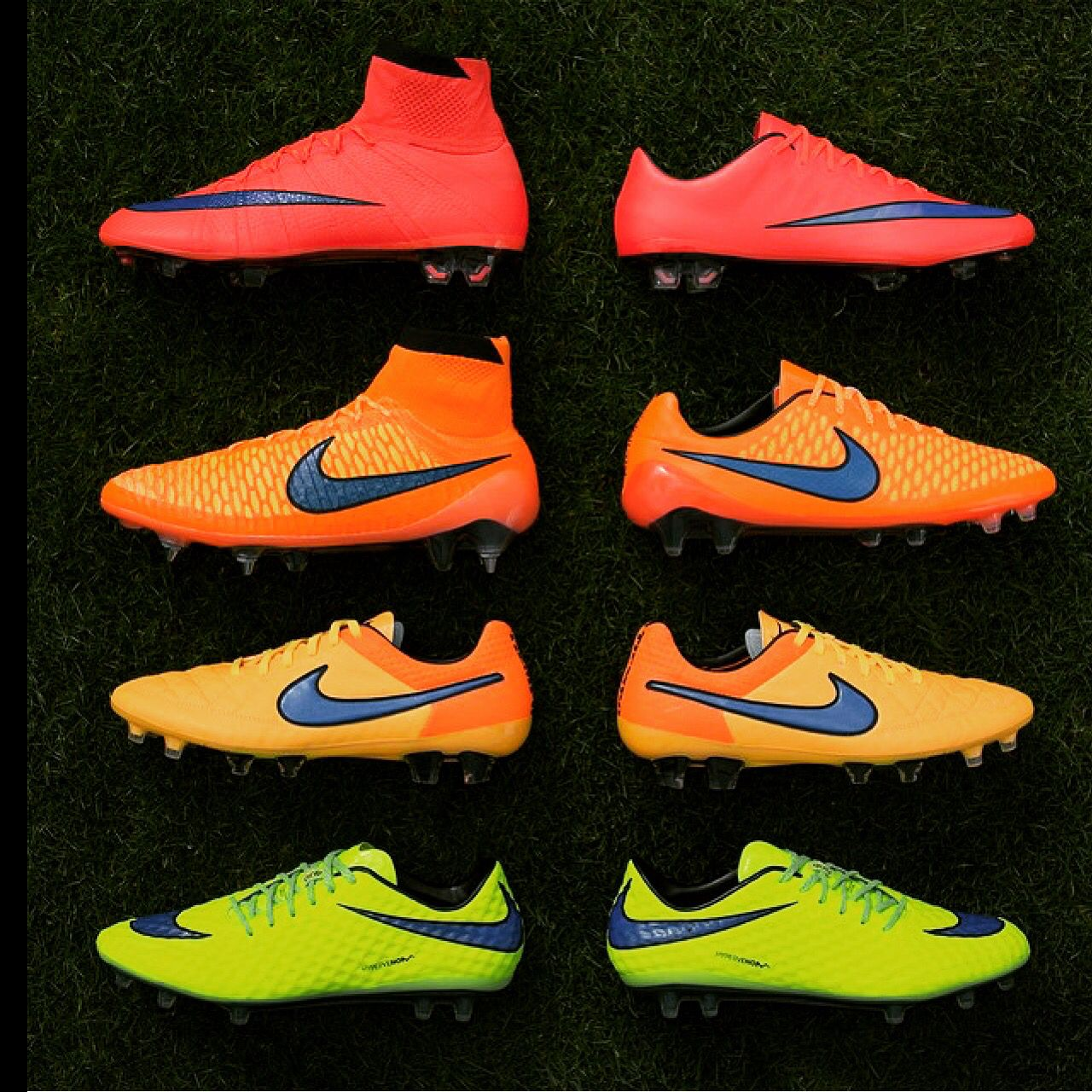 check out d50ec 4e4e1 New intense heat pack from nike. Nike Nike Soccer Cleats, Soccer Boots,  Football Cleats, Football Shoes, Soccer Gear