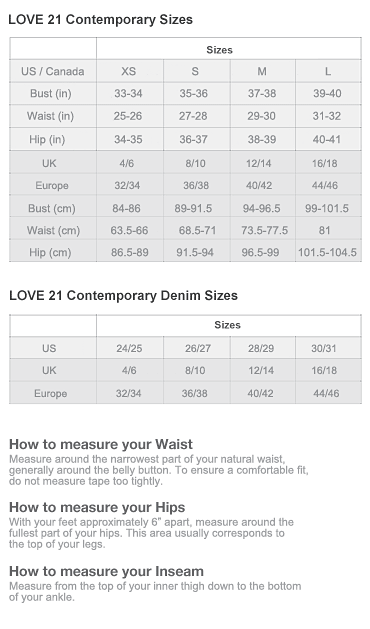 Forever love size chart also so you think can sew rh pinterest