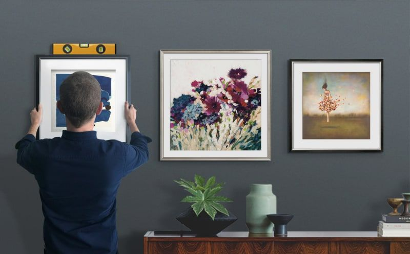How To Use Art Com Ar App Preview Art On Wall Feature Gallery Wall Diy Wall Art Wall