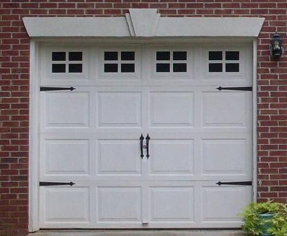 Faux Fake Carriage Garage Door Windows With Hinges Handles 8