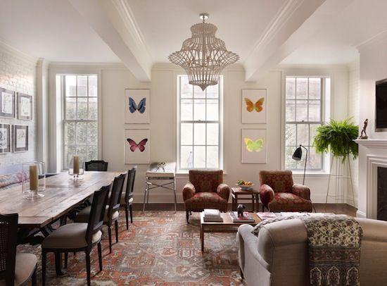 Sara Ruffin Costello designed townhouse | Interior design ...