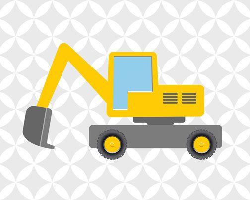Vehiculos De Construccion Descarga De Camiones Por Jjartworld Maquinas De Construccion Vehiculos De Construccion Cumpleanos De Construccion