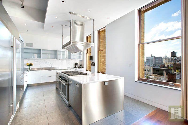 kitchen Arianna Huffington Buys $8.15M Soho Condo | Manhattan Scout ...
