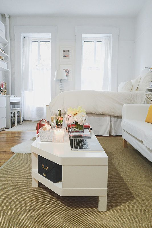 Source Homepolish Via The Every Ikea Studio Apartment Apt Small Apartments