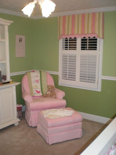 Two Tone Green Nursery Walls Need To Do This In Edens Room