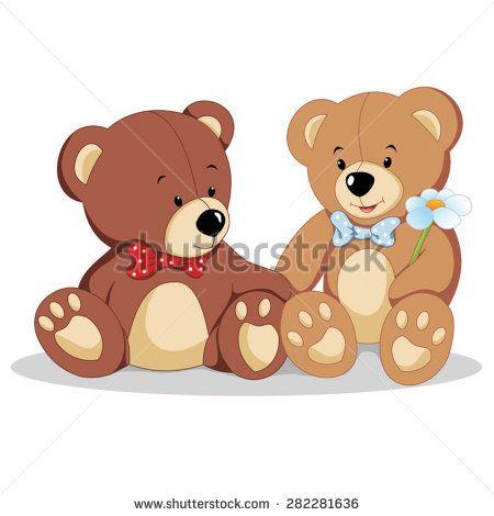 teddy bears vector  Teddy Bears Vector Illustration | teddy bears | Pinterest | Teddy ...