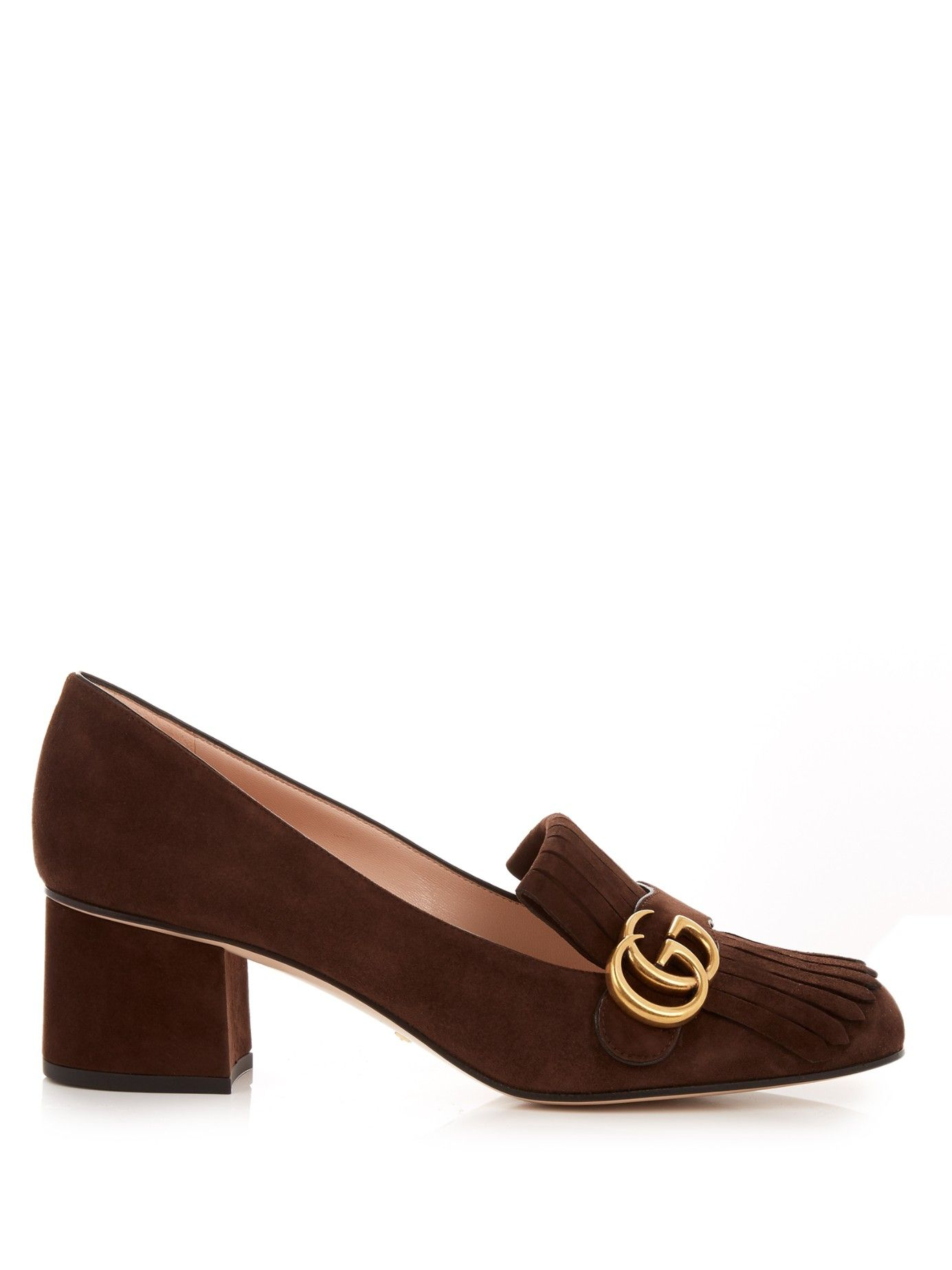 3999622e7f2 Marmont fringed suede loafers