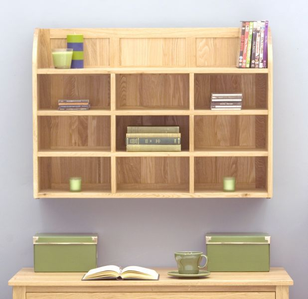 related ideas mobel oak. Mobel Oak Reversible Wall Rack: Constructed In Solid This Shelving Unit Can Be Mounted Either Way. Useful Any Room Including As Office Storage. Related Ideas
