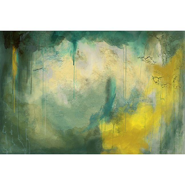 This large contemporary abstract canvas wall art set by Maxwell ...