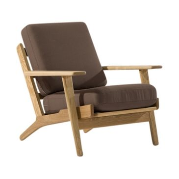 Buy Designer Furniture: Wegner Style GE 290 Easy Chair | Vita Interiors