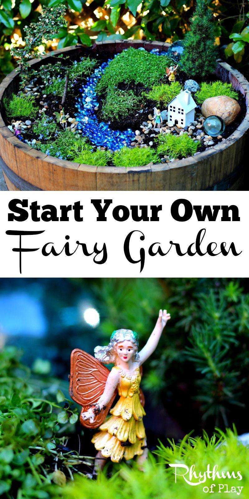 Start Your Own Fairy Garden Gardens Decks and Backyards