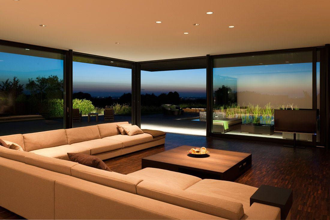 Wohnzimmer Und Couch Von Haus P In Dsseldurf Architek Martin