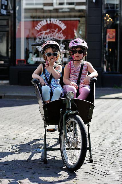 Kid transport l Bike l Den Haag l The Hague l Dutch l The Netherlands