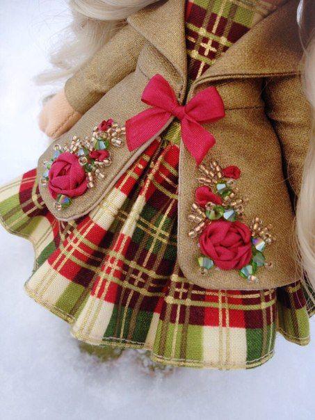 ღVictoria Alexღ Интерьерные куклы ручной работыღ #dollclothes
