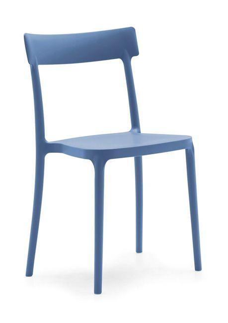 sedie azzurre calligaris