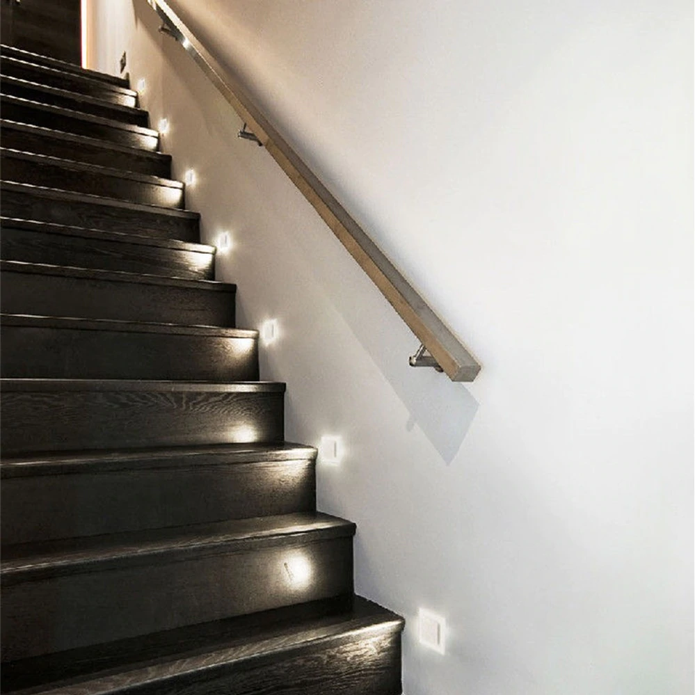 260v Embedded Stair Footlight Acrylic Wall Lamp Lighting Lamp