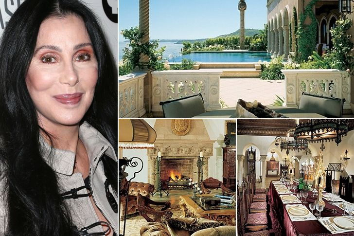 39 Fanciest Celebrity Houses - Who Bought A New House With The Help