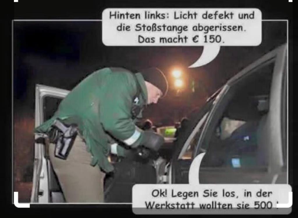 Sprüche Polizei