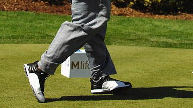 air jordan 12 golf shoes