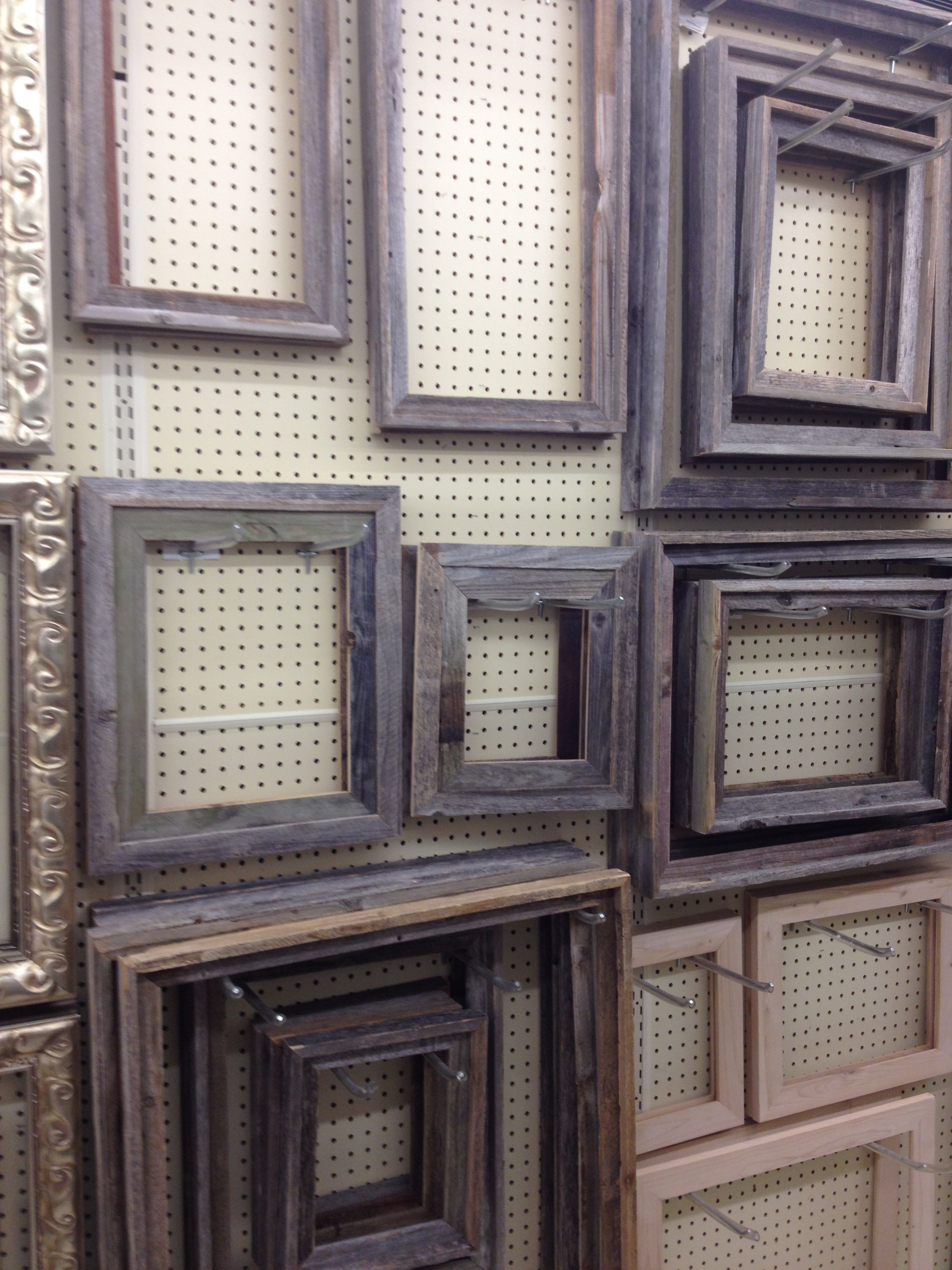 Lots Of Sizes Of Barnwood Frames L Rectangle Shape No