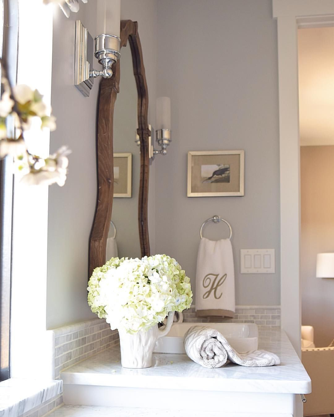 Bathroom Color Ideas Pretty Gray Paint Selections: Paint Color- Silver Lake By Benjamin Moore