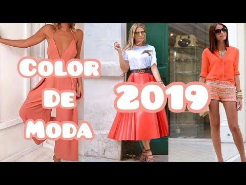 aae47c4ec18f TENDENCIAS COLOR DE MODA 2019 Ropa para mujer Accesorios Decoración COLOR DE  MODA LIVING CORAL 2019 - YouTube