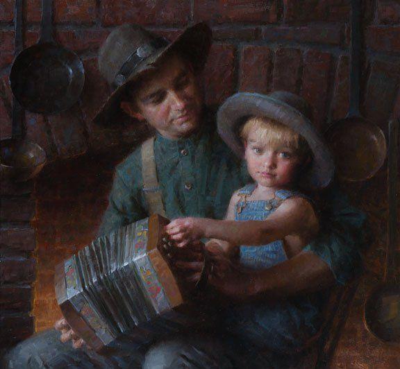 """Pride and Joy"" -- Morgan Weistling (1964-- American)"